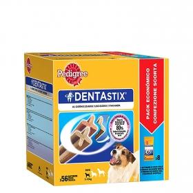 Pedigree Dentastix. Pack Mensual de 56 barritas