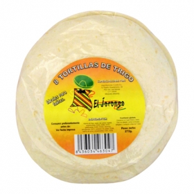 Tortillas de trigo El Jorongo 272 g.