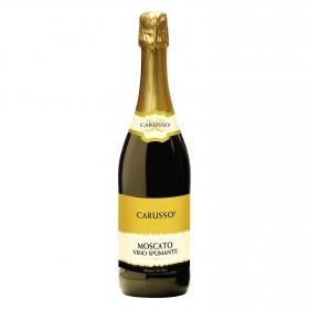 Vino espumante Moscato blanco Carusso 75 cl.