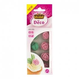 Rosas de azúcar Vahiné 8 ud.