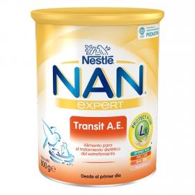 Leche Nan Transit A.E. en polvo Nestlé Nan 800 g.