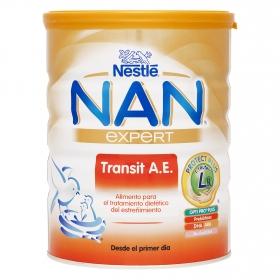 Leche Nan Transit A.E. en polvo