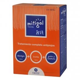 Tratamiento completo antipiojos: champú + loción