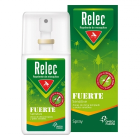 Spray repelente de mosquitos fuerte Sensitive