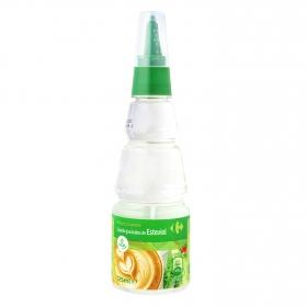Edulcorante líquido con extracto de stevia Carrefour 125 ml.