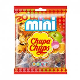 Caramelo con palo Mini Chupa Chups 20 ud.