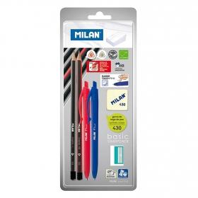 Bolígrafos, Lápices, Sacapuntas y Goma
