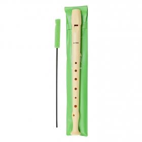 Flauta Funda Verde