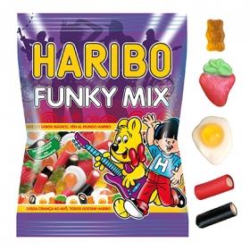 Caramelos de goma Funky Mix Haribo 150 g.