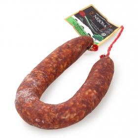Chorizo primera herradura picante Embutidos Nejosa pieza 375 g aprox