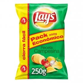 Patatas fritas sabor campesinas Lay's sin gluten 250 g.