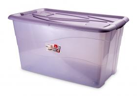 Baúl antipolillas 90 litros Violeta