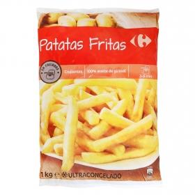 Patatas fritas clásicas Carrefour 1 kg.