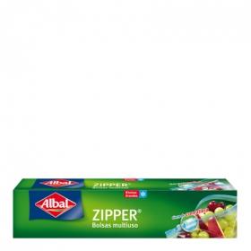 Bolsas multiuso Zipper 3l.