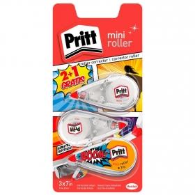 Corrector Pritt  Mini Roller - Promoción 2 + 1