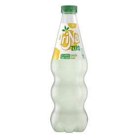Refresco de limón Trina zero sin gas botella 33 cl.