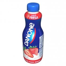 Yogur para beber sabor fresa