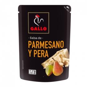 Salsa de parmesano y pera Gallo envase 140 g.
