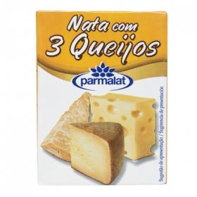 Salsa nata con tres quesos