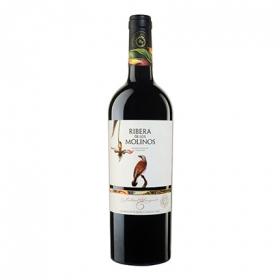 Vino D.O. La Mancha tinto cabernet sauvignon Ribera de los Molinos 75 cl.