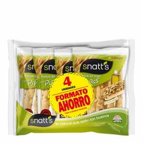Palitos de trigo con pipas Grefusa Snatt's pack de 4 unidades de 40 g.