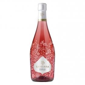 Vino espumanti rosado Sandara 75 cl.
