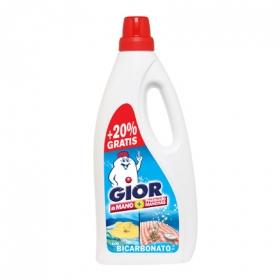 Detergente líquido a mano con bicarbonato