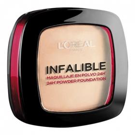 Base de maquillaje compacto infalible 123 E L'Oréal 1 ud.