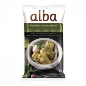 Bocaditos de pan con ajo y perejil Alba 110 g.
