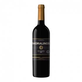 Vino D.O. Valdepeñas tinto gran reserva Moralinos 75 cl.