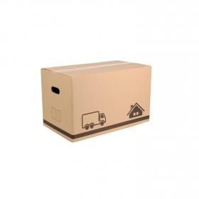 Caja de ordenación  de Cartón 29 x 49,5 x 28,5 cm  Marron