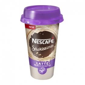 Café latte macchiato Nescafé Shakissimo 190 ml.