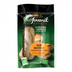 Barritas de pan rústicas ecológico Fournil pack de 2 unidades de 200 g.