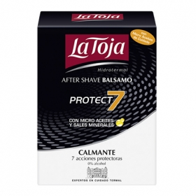 After shave bálsamo Protect 7con micro aceites y sales minerales