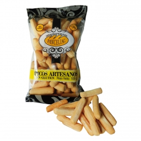 Picos artesanos Panceliac sin gluten 100 g.