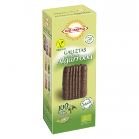 Galletas con algarroba