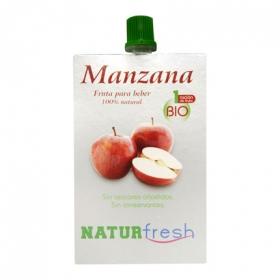 Fruta para beber de manzana