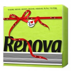 Servilletas  1 capa Red Label 70pz  Verde
