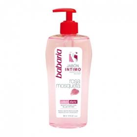 Jabón íntimo rosa mosqueta