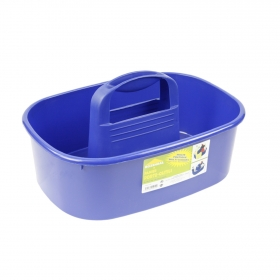 Cesta para Útiles de limpieza  Azul