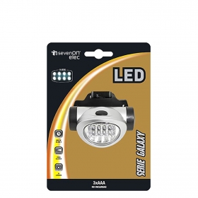 Linterna Frontal 8 LED