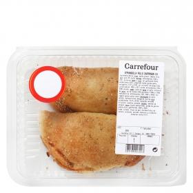 Empanadilla de pollo y champiñones