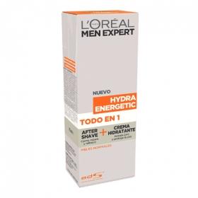 After shave + crema hidratante Hydra Energetic para pieles normales