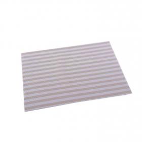 Mantel Individual Cuadrado de Vinilo  45x30cm Crema