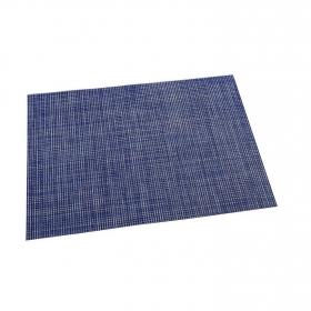 Mantel Individual Cuadrado de Vinilo 45x30cm Azul