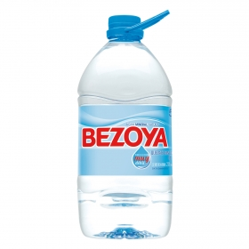 Agua mineral Bezoya natural 5 l.