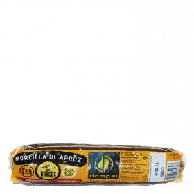 Morcilla de Burgos Dompal sin gluten 285 g.
