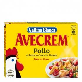 Caldo de pollo en pastillas