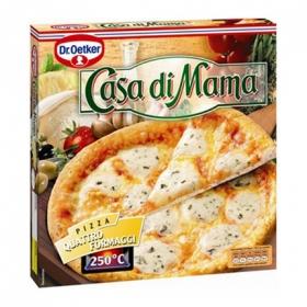 Pizza 4 quesos Casa di Mama Dr. Oetker 395 g.
