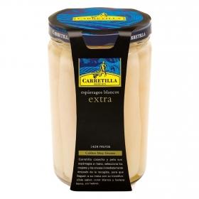 Espárragos blancos extra 12/24 frutos Carretilla 570 g.